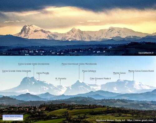 4 Monti dellAppennino